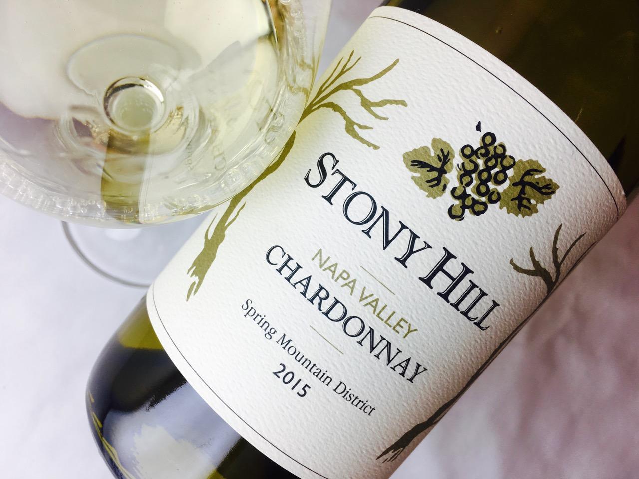 2015 Stony Hill Chardonnay Spring Mountain Napa Valley