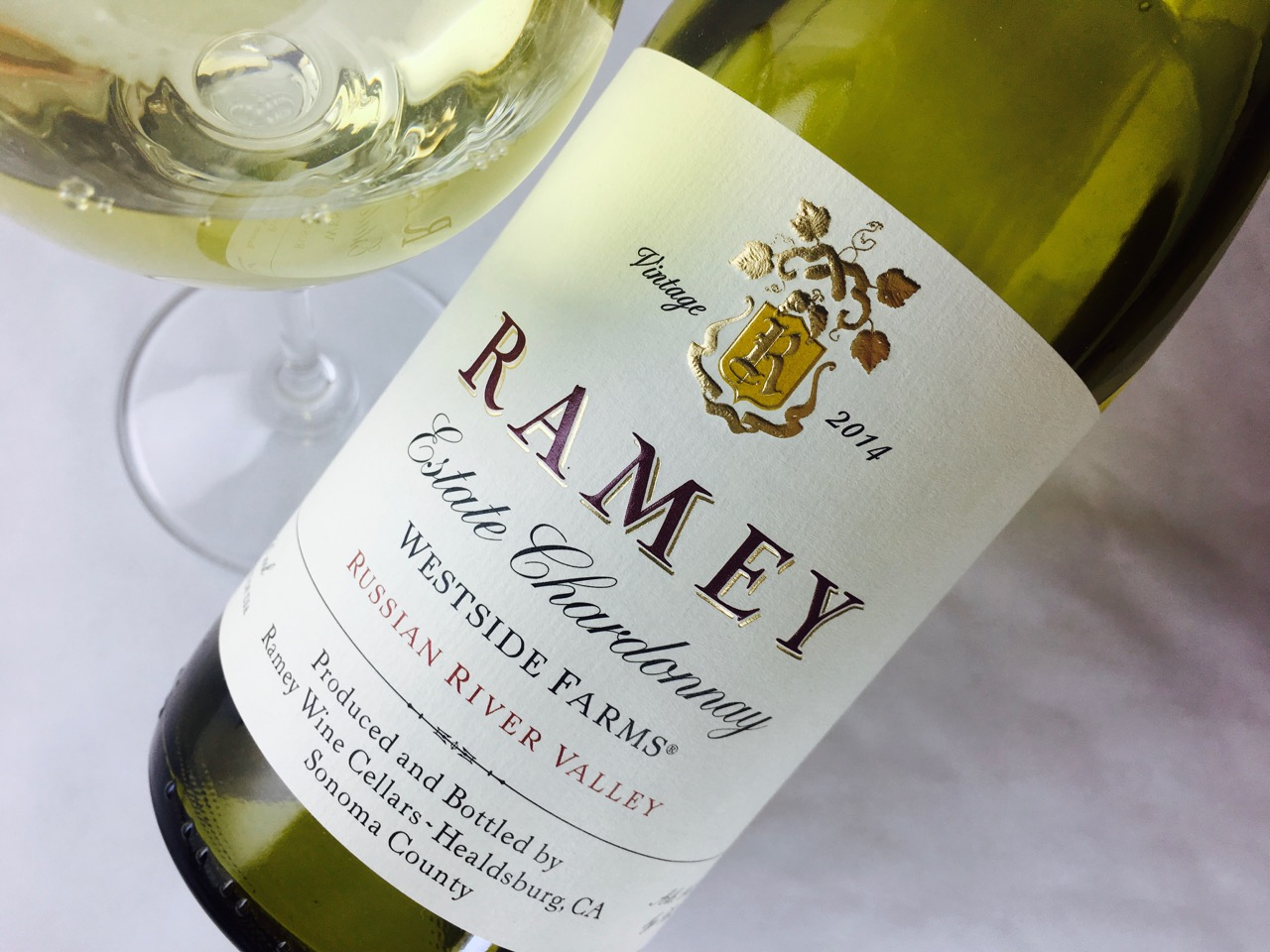 2014 Ramey Chardonnay Westside Farms Russian River Valley