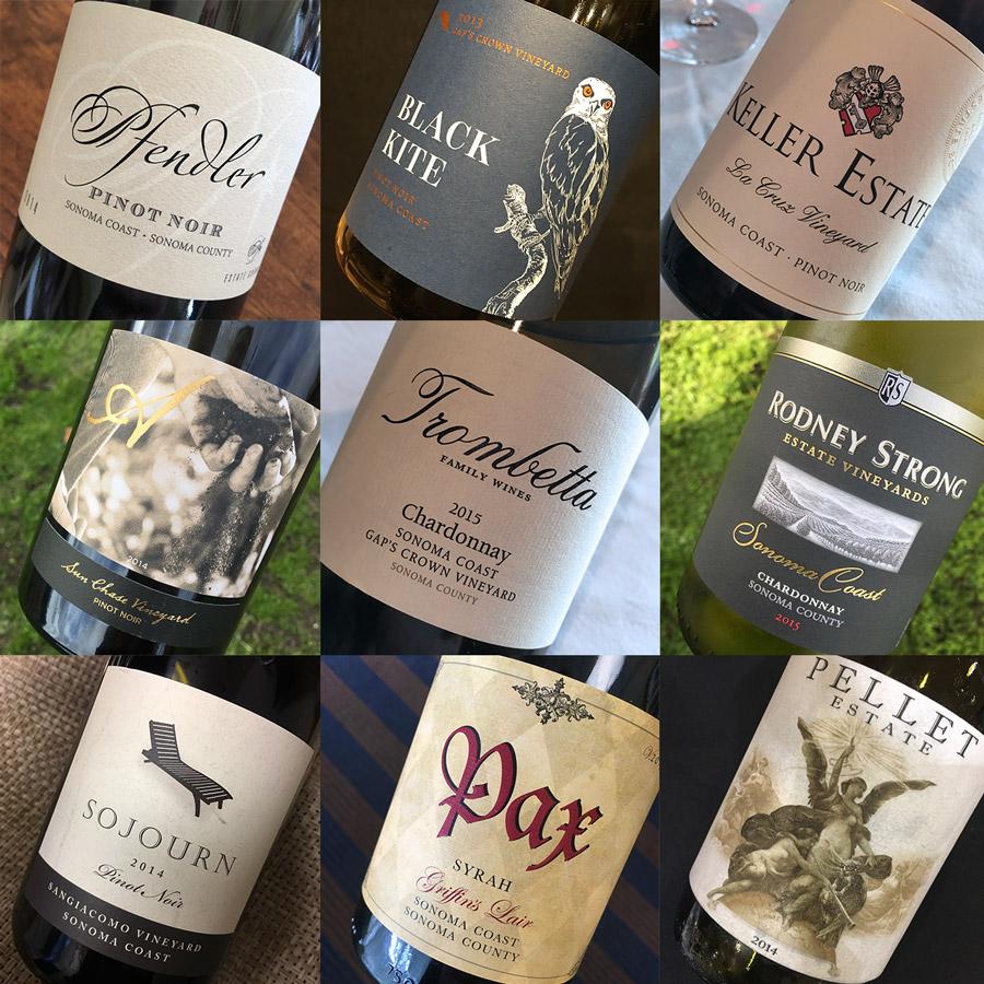 Petaluma Gap wines