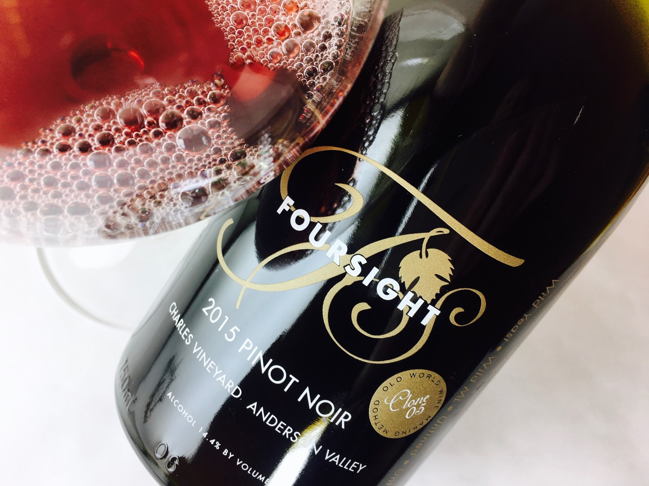 2015 Foursight Pinot Noir Clone 05 Charles Vineyard Anderson Valley