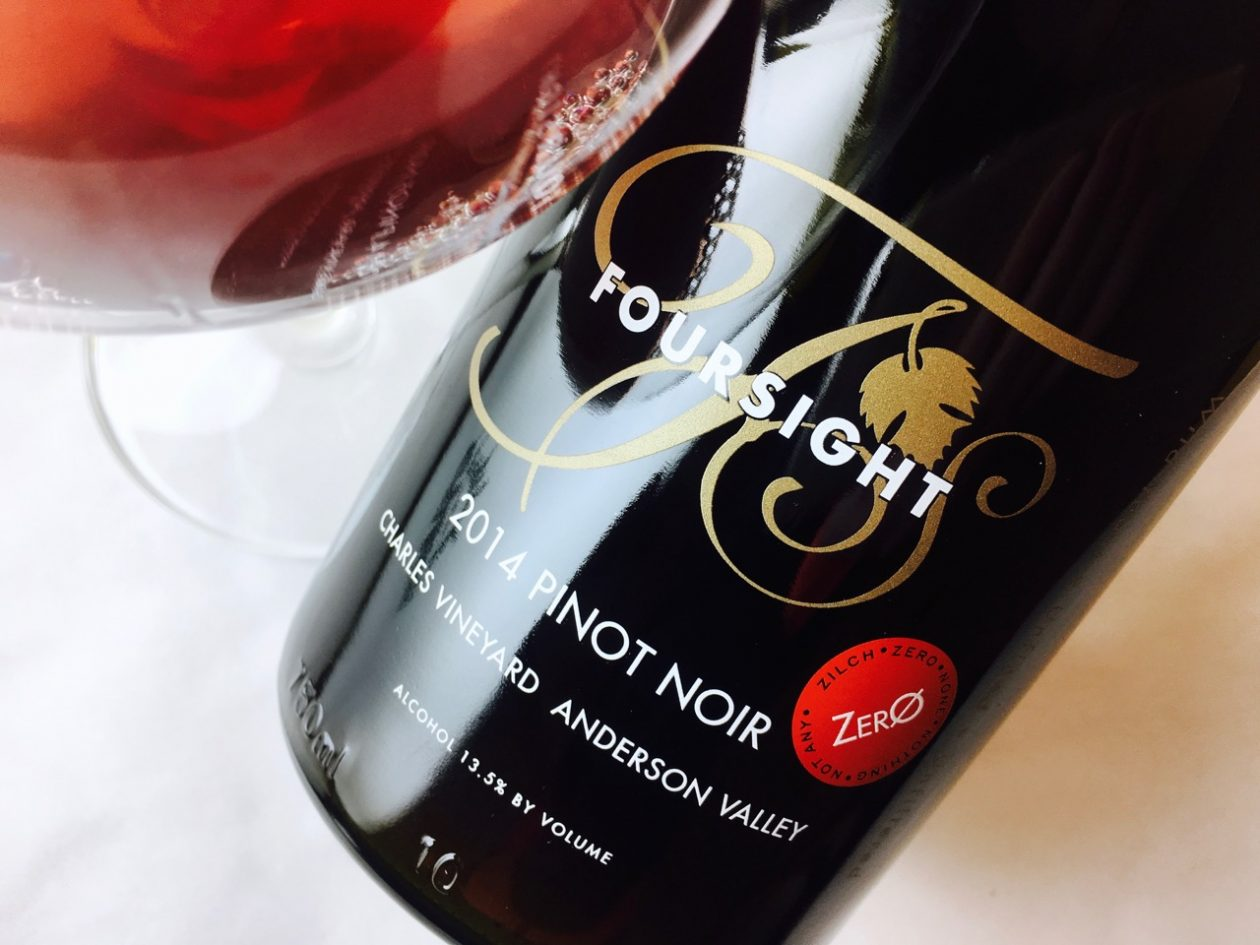 2014 Foursight Pinot Noir Zero Charles Vineyard Anderson Valley