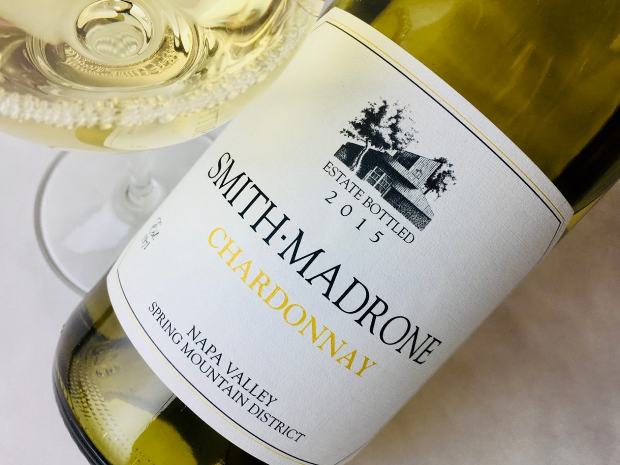 2015 Smith-Madrone Chardonnay Spring Mountain Napa Valley
