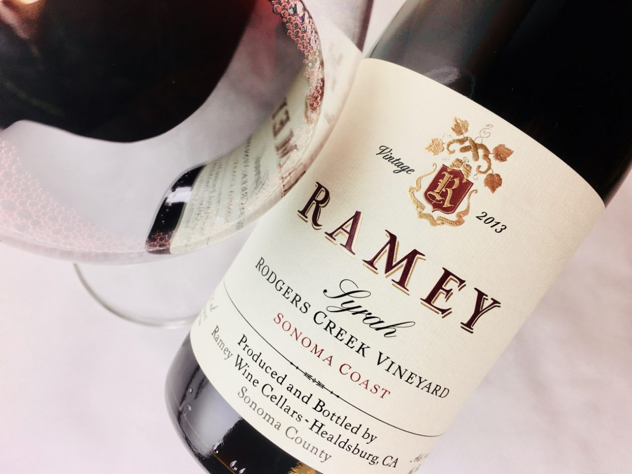 2013 Ramey Syrah Rodgers Creek Vineyard Sonoma Coast