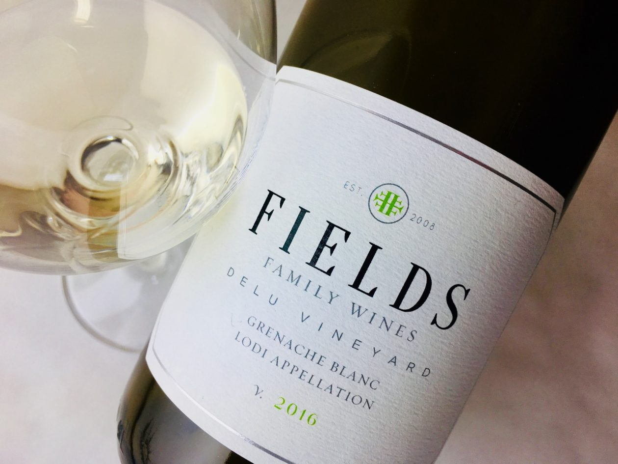 2016 Fields Family Wines Grenache Blanc Delu Vineyard Alta Mesa Lodi