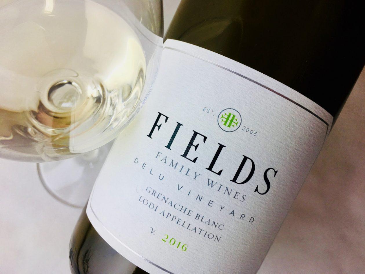 2016 Fields Family Wines Grenache Blanc Delu Vineyard Alta Mesa Lodi