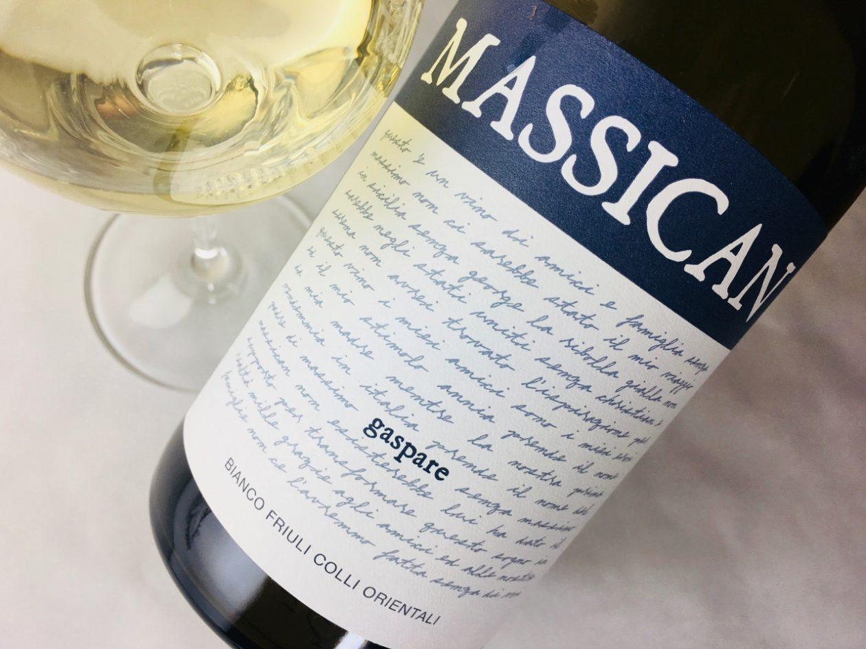 2016 Massican Gaspare Bianco Friuli Colli Orientali