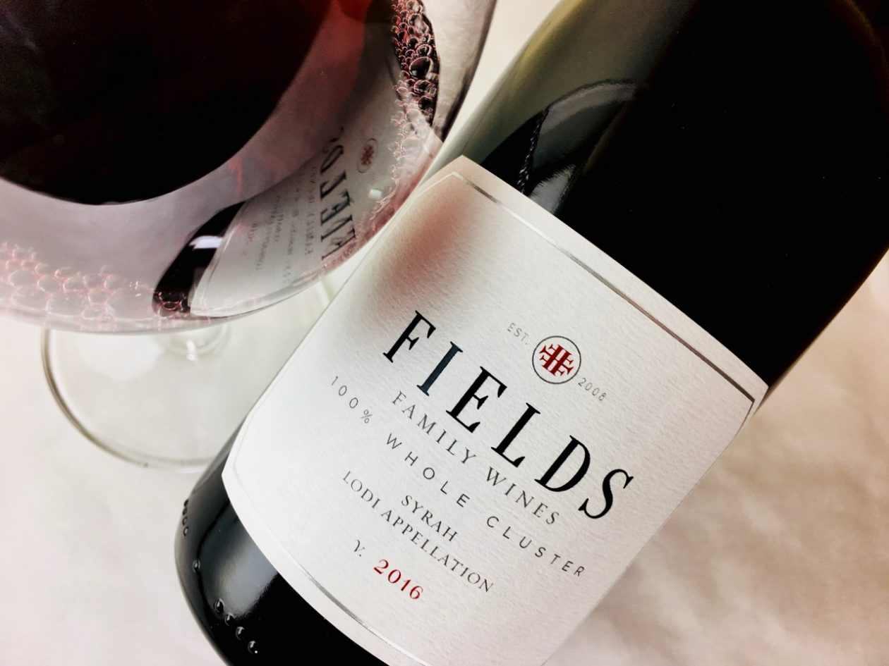 2016 Fields Family Wines Syrah Whole Cluster Mokelumne River Lodi