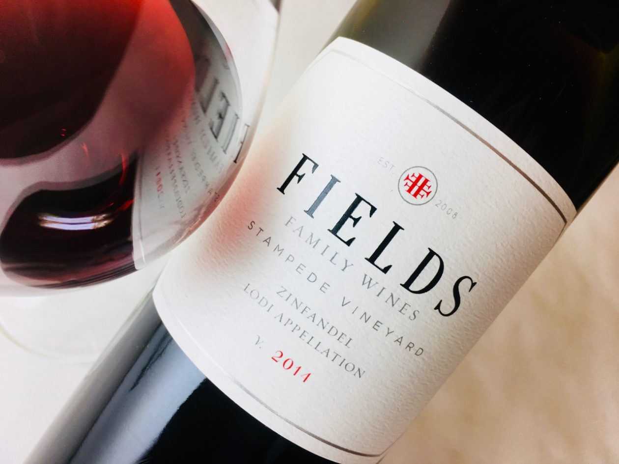 2014 Fields Family Wines Zinfandel Stampede Vineyard Lodi