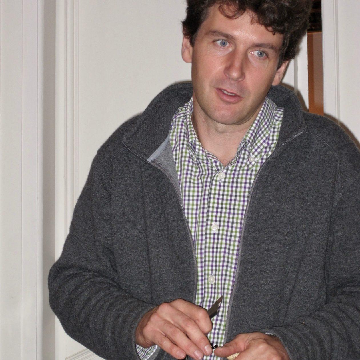 Martin Franzen, winemaker at Müller-Catoir