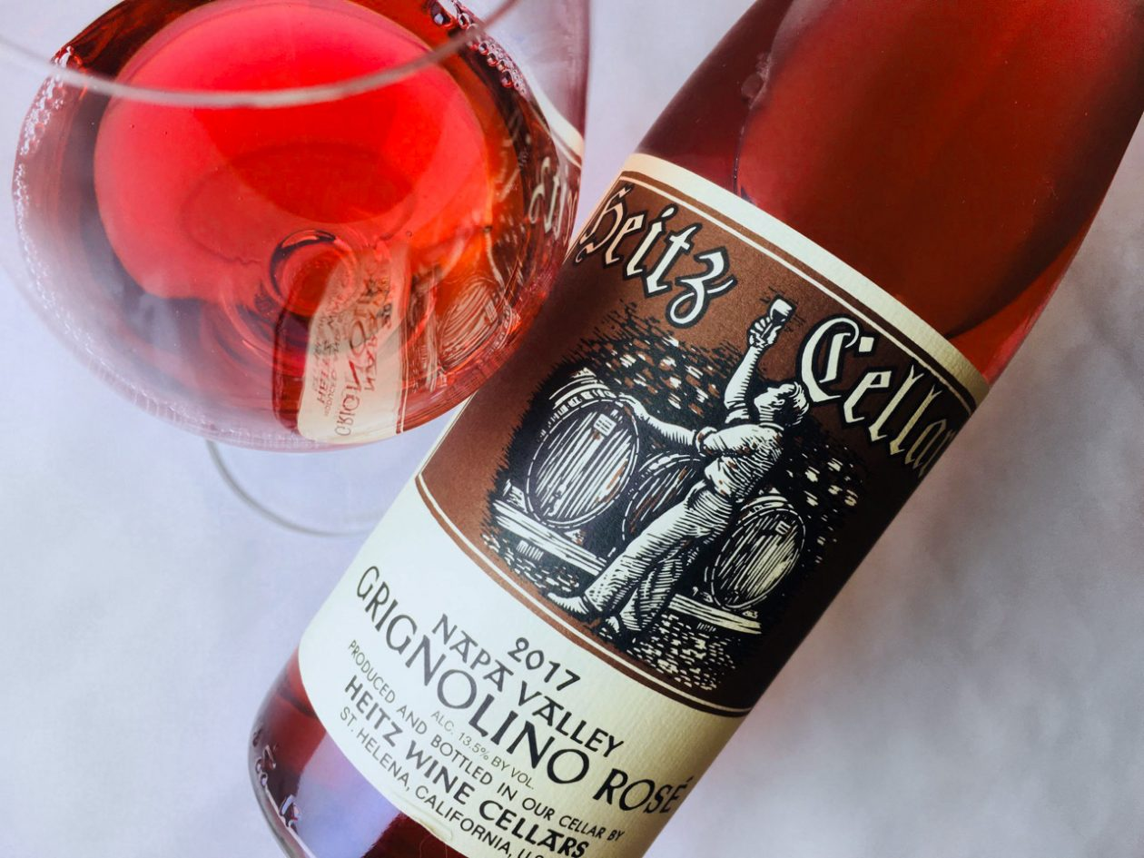 2017 Heitz Cellars Grignolino Rosé Napa Valley