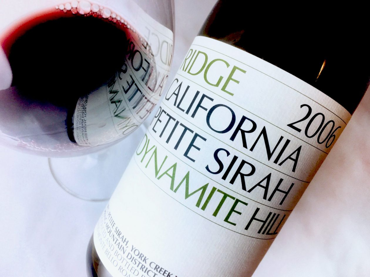 2006 Ridge Petite Sirah Dynamite Hill Spring Mountain