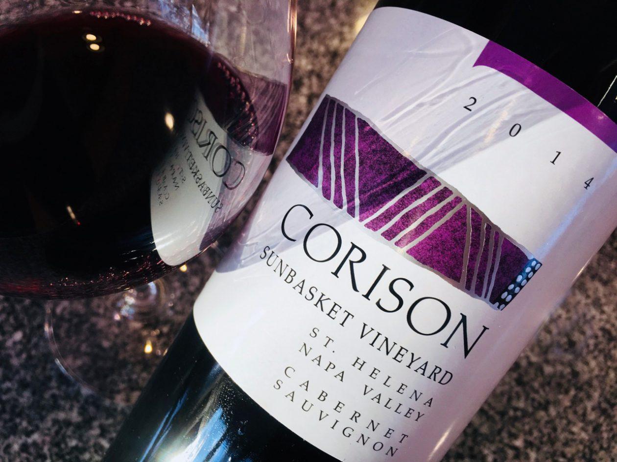 2014 Corison Cabernet Sauvignon Sunbasket Vineyard St. Helena Napa Valley