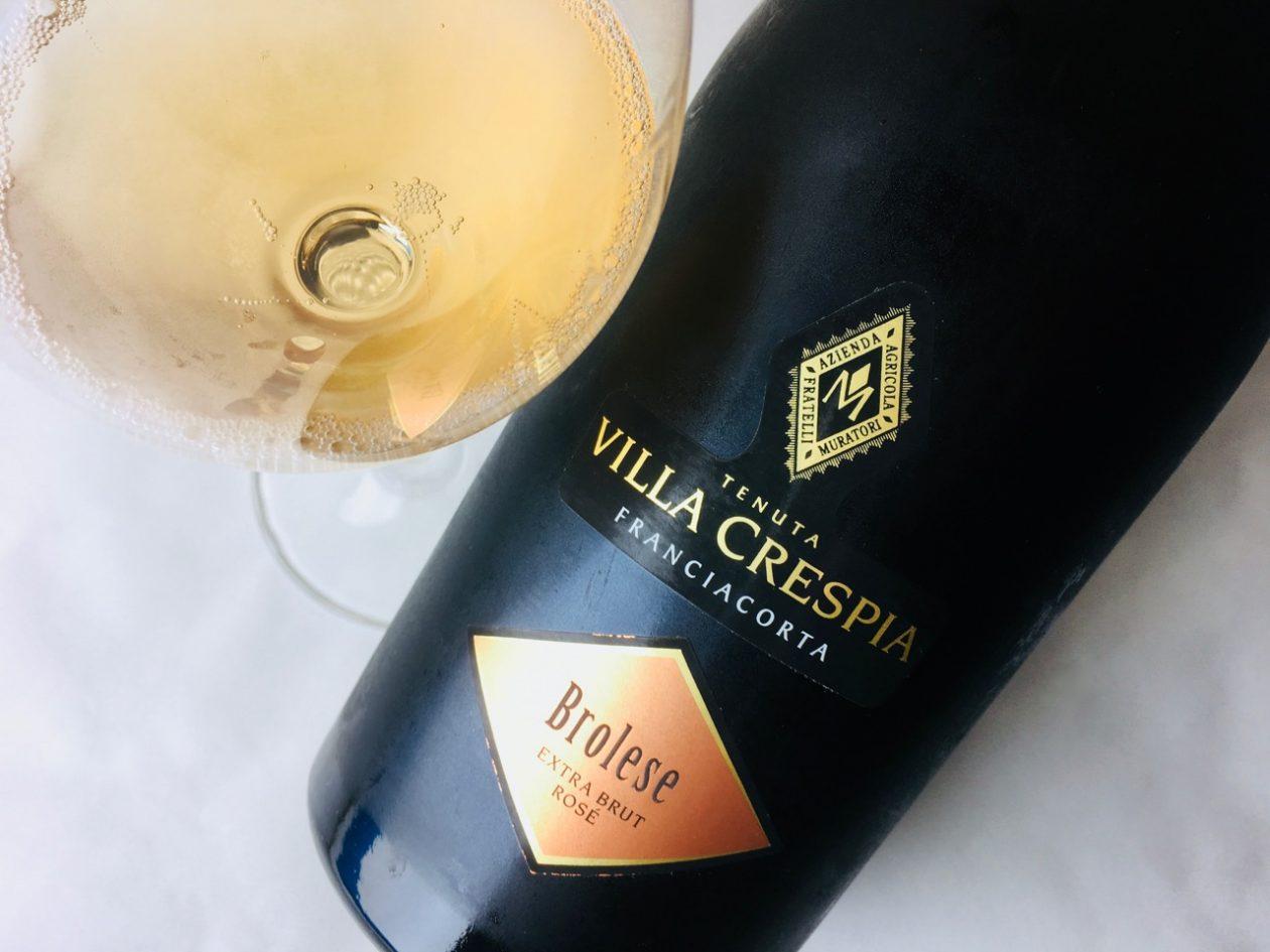 2016 Villa Crespia Brolese Rosé Extra Brut Franciacorta