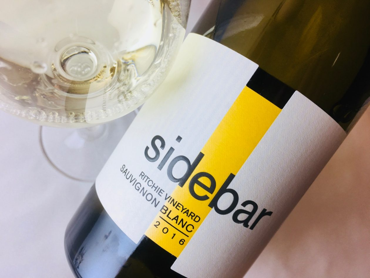 2016 Sidebar Sauvignon Blanc Richie Vineyard Russian River Valley