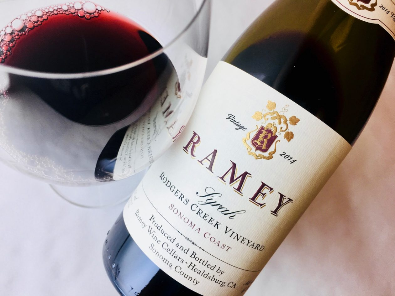 2014 Ramey Syrah Rodgers Creek Vineyard Sonoma Coast