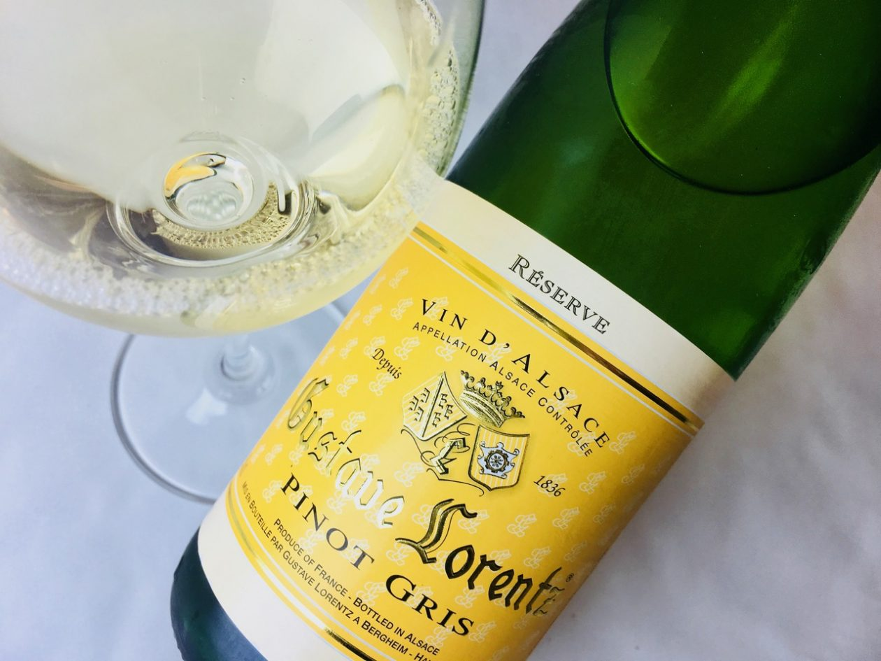 2016 Gustave Lorentz Pinot Gris Alsace