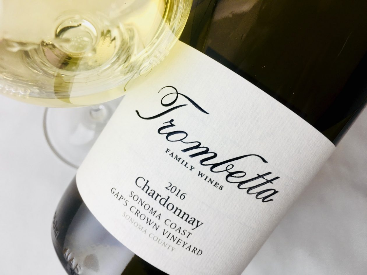 2016 Trombetta Chardonnay Gap's Crown Vineyard Sonoma Coast