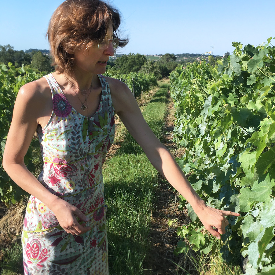 Cécile Maillié Verdier, Ch. Brethous, Cadillac Côtes de Bordeaux