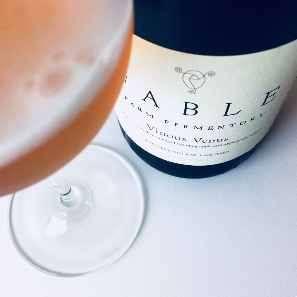 Fable Farm Fermentory Vinous Venus Fruit Cider