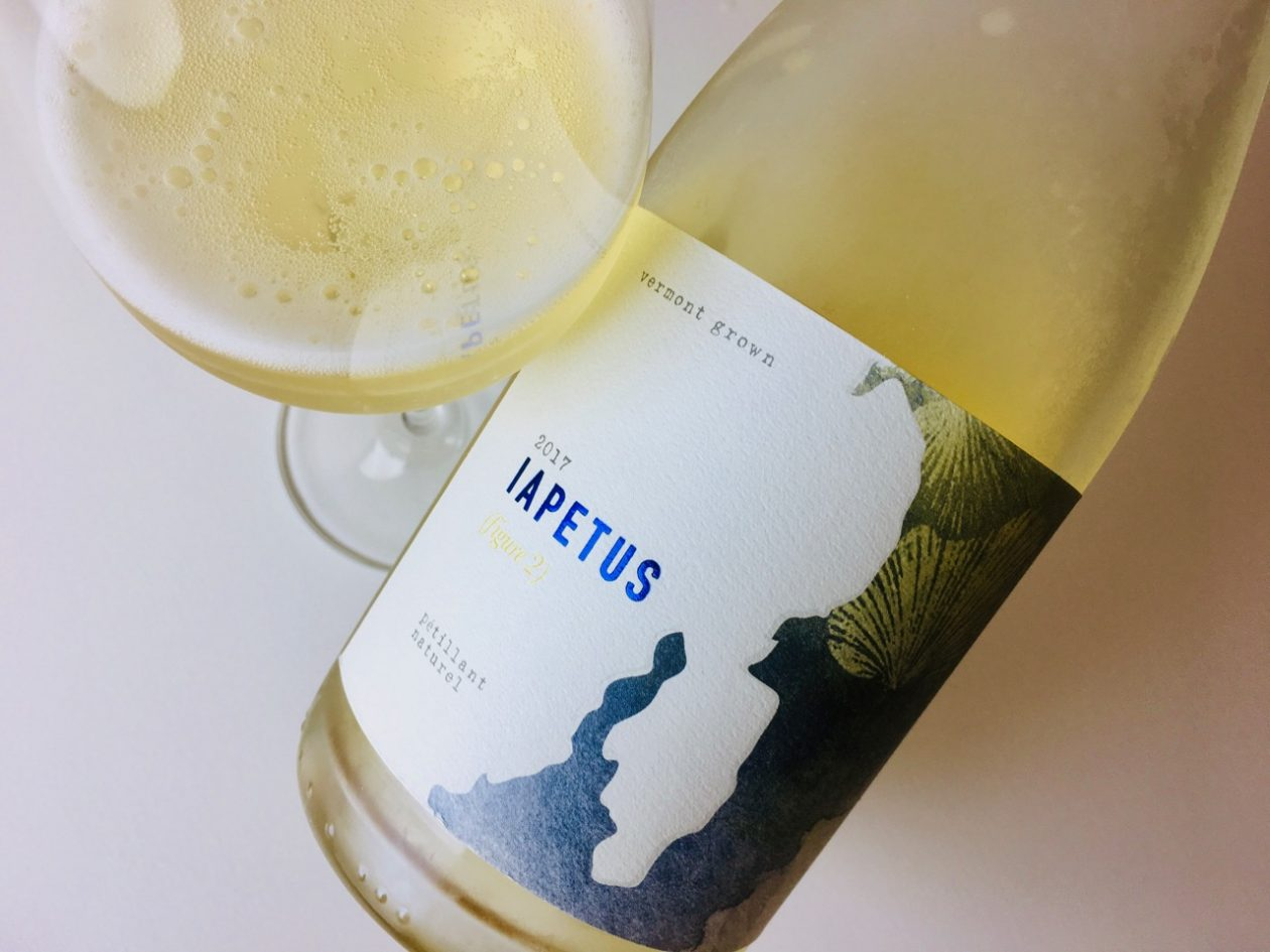 2017 Iapetus Figure 2 Pétillant Naturel White Vermont