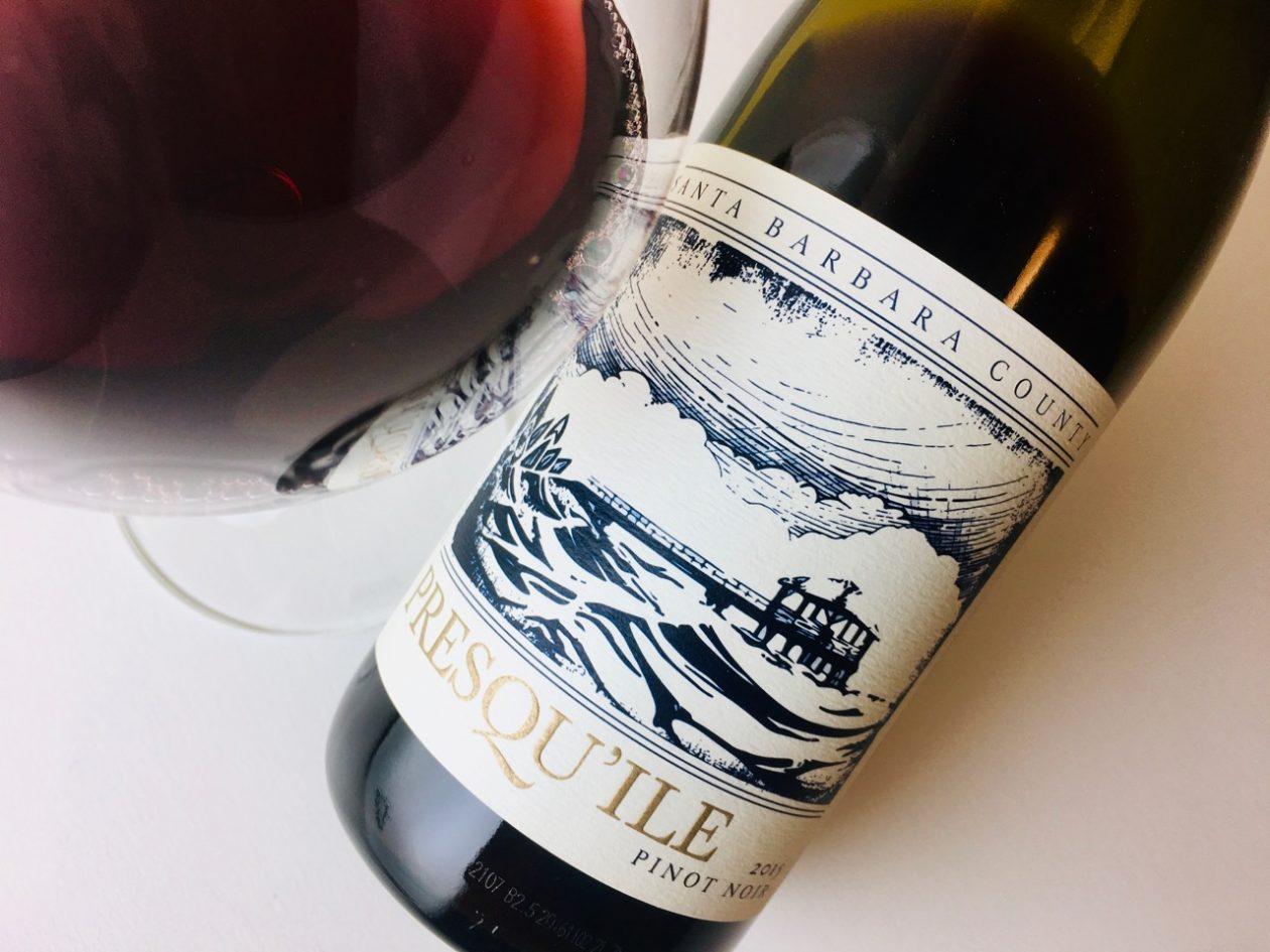 2015 Presqu'ile Pinot Noir Santa Barbara County