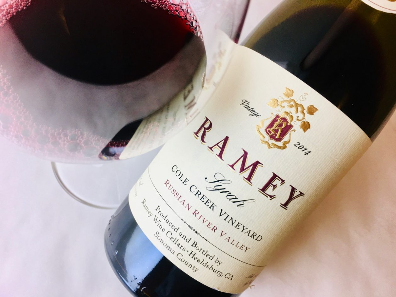 2014 Ramey Syrah Cole Creek Vineyard Russian River Valley
