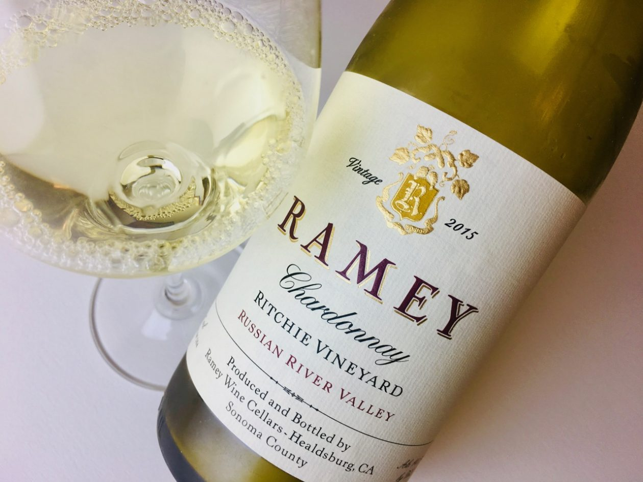 2015 Ramey Chardonnay Ritchie Vineyard Russian River Valley
