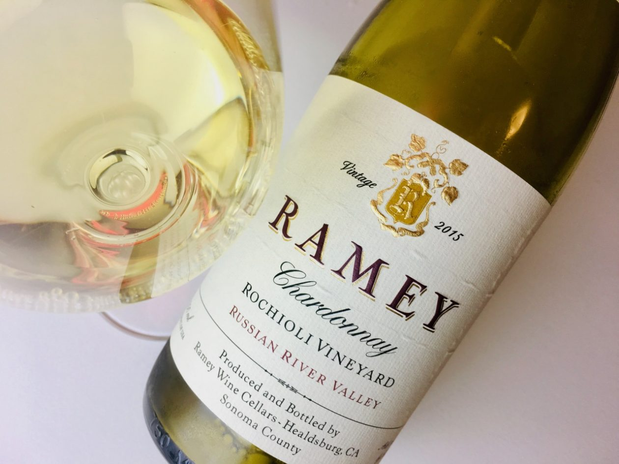 2015 Ramey Chardonnay Rochioli Vineyard Russian River Valley