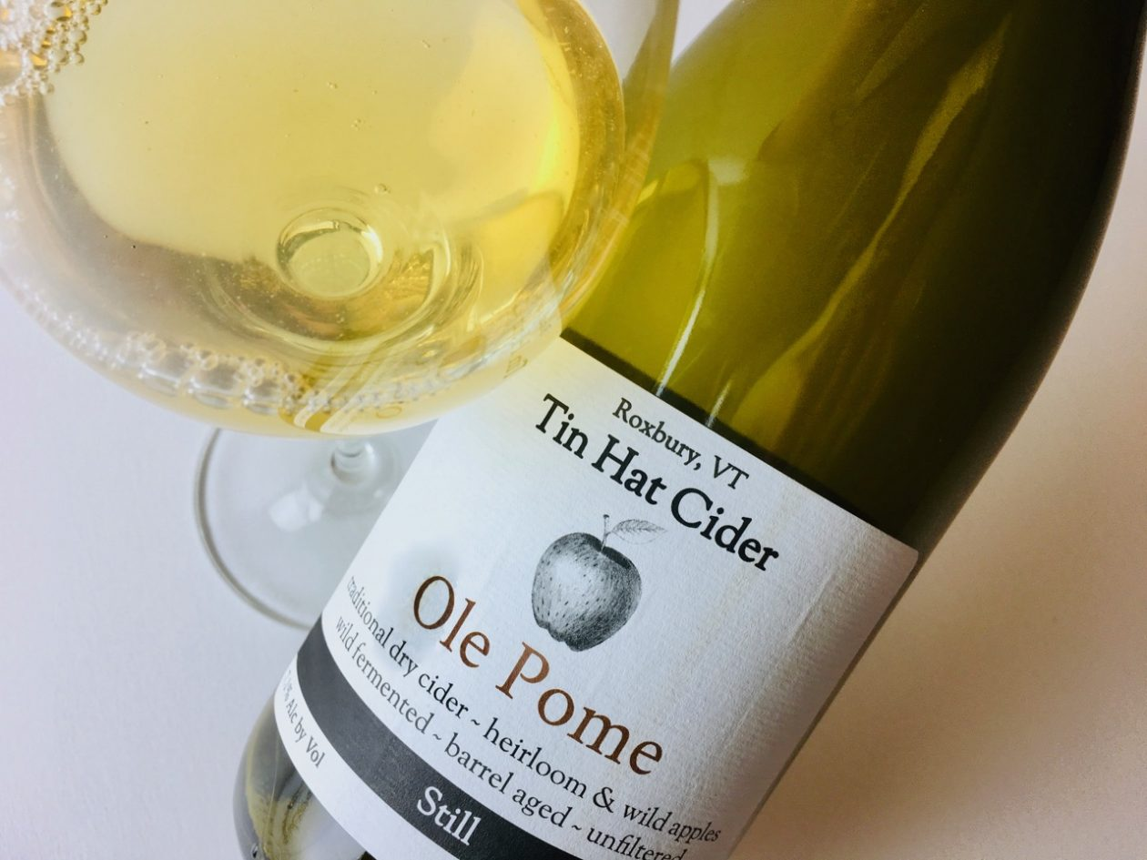 Tin Hat Ole Pome Still Dry Cider