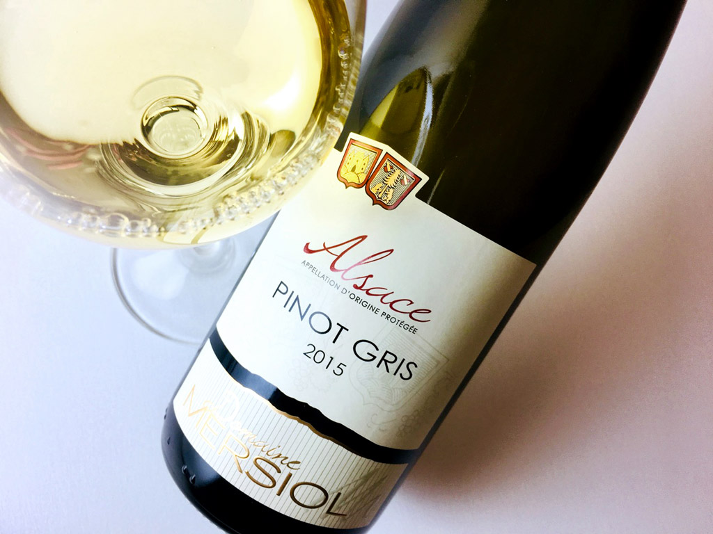 2015 Domaine Mersiol Pinot Gris Alsace