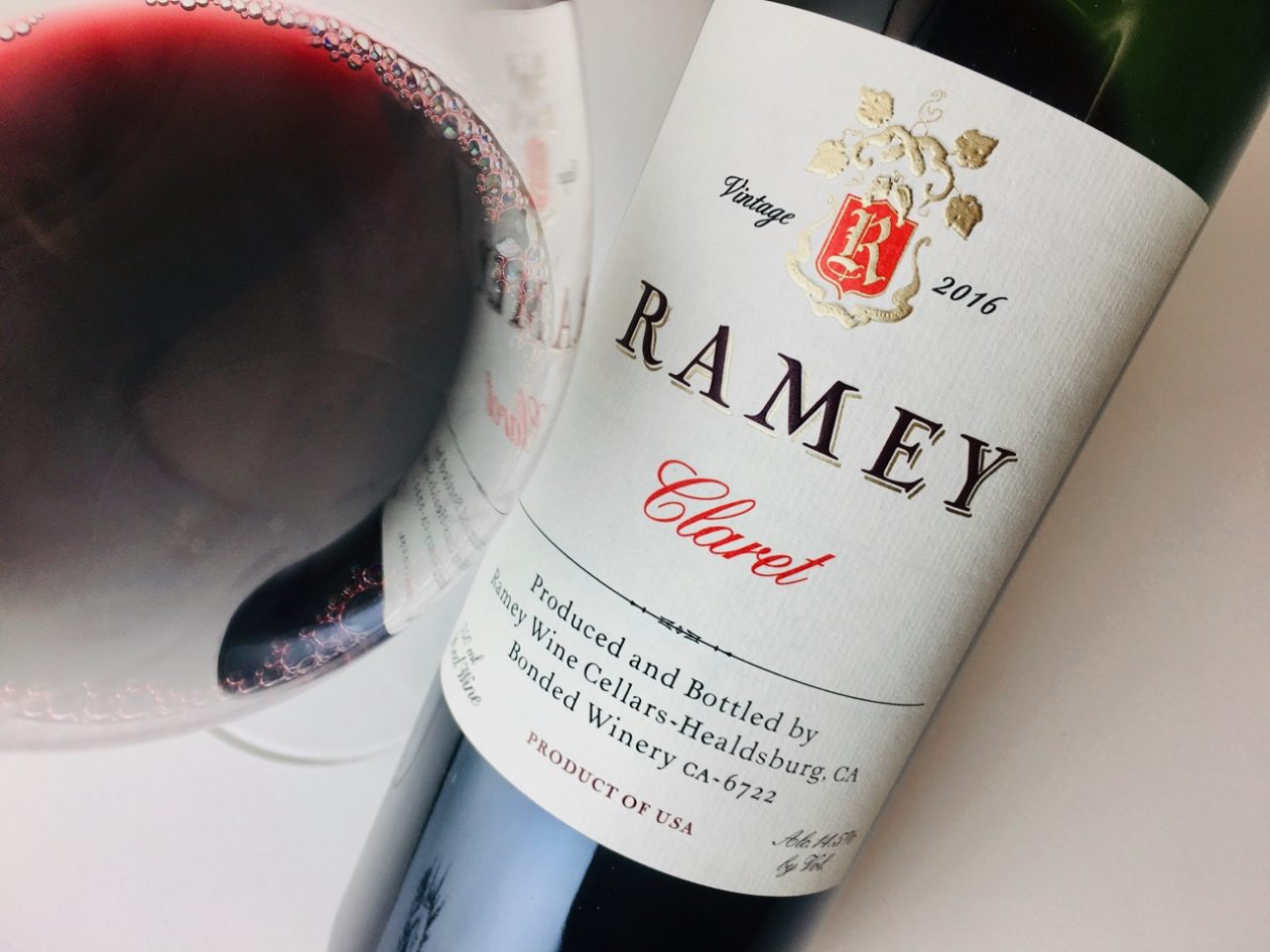2016 Ramey Claret Red Blend Napa Valley