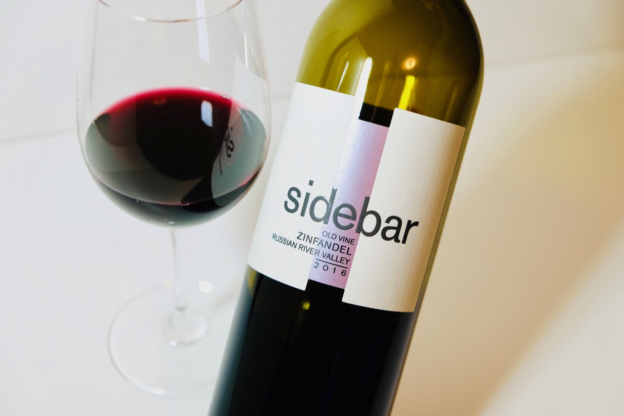 2016 Sidebar Old Vine Zinfandel Russian River Valley