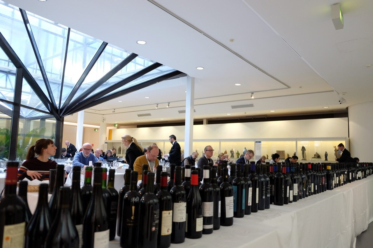 Wine journalists from many countries attended the event