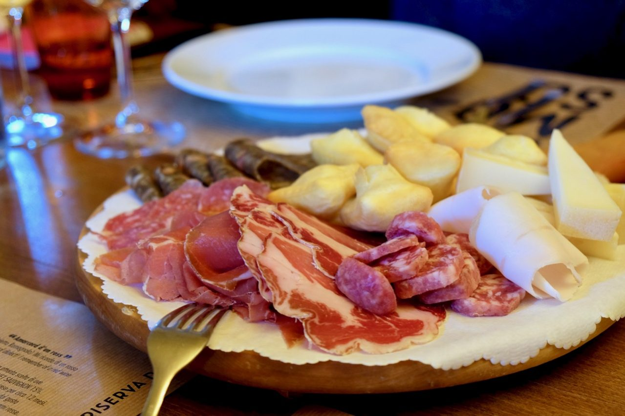 Cured meats made from region's black pigs, Mora Romagnola
