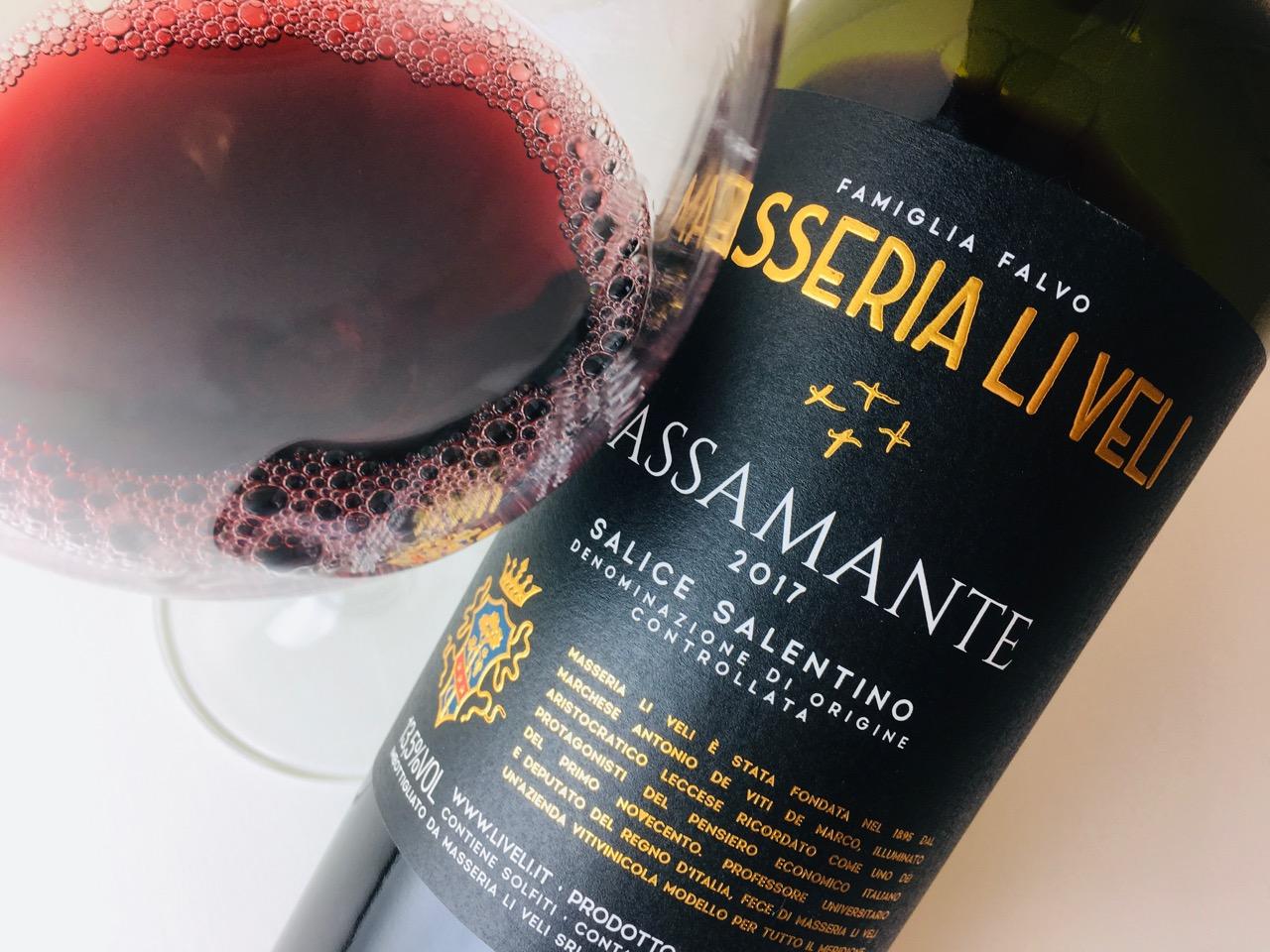 2017 Masseria Li Veli Passamante Salice Salentino