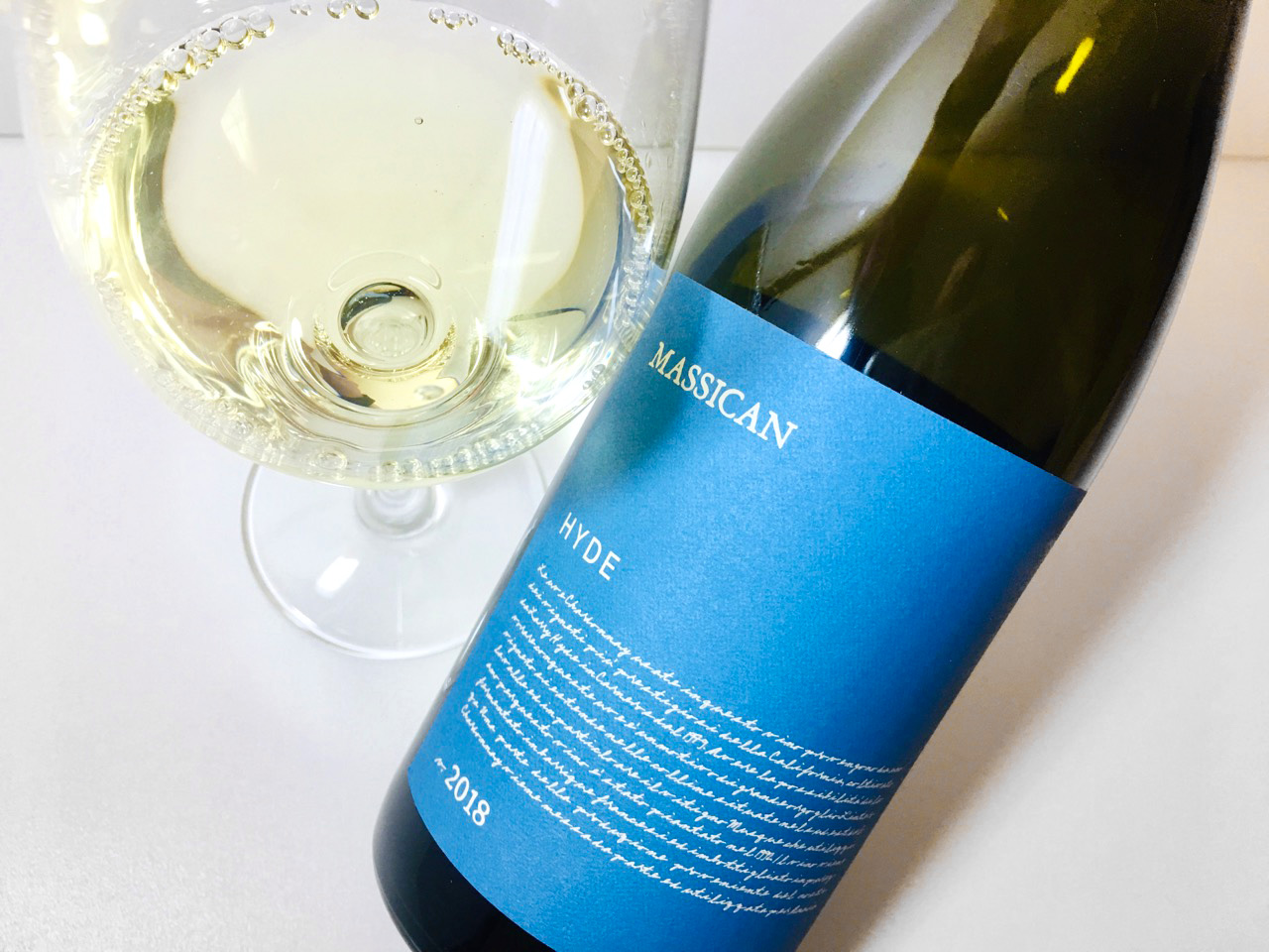 2018 Massican Chardonnay Hyde Vineyard Napa Valley