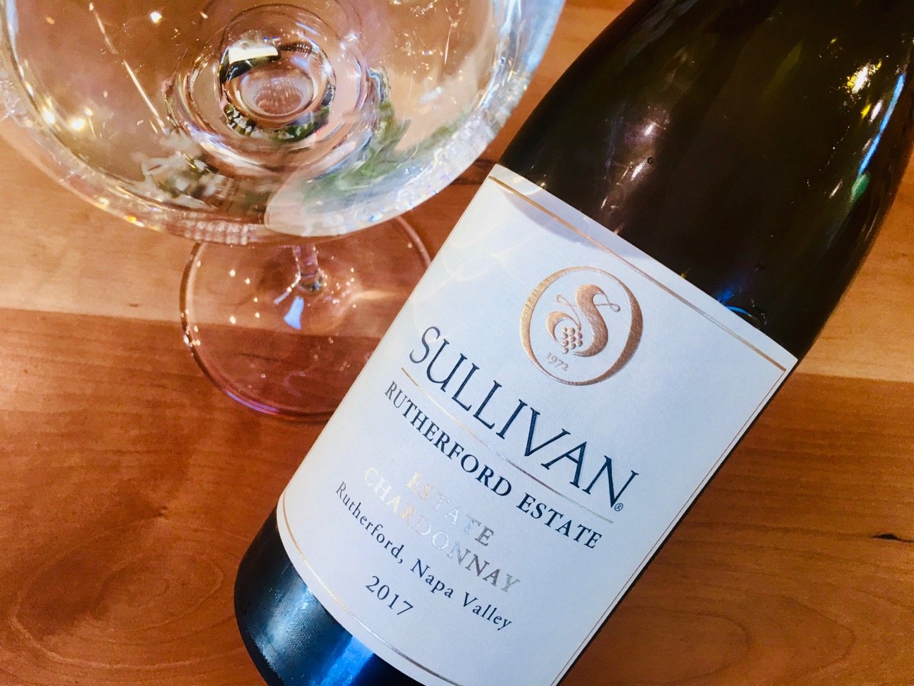 2017 Sullivan Estate Chardonnay Rutherford Napa Valley