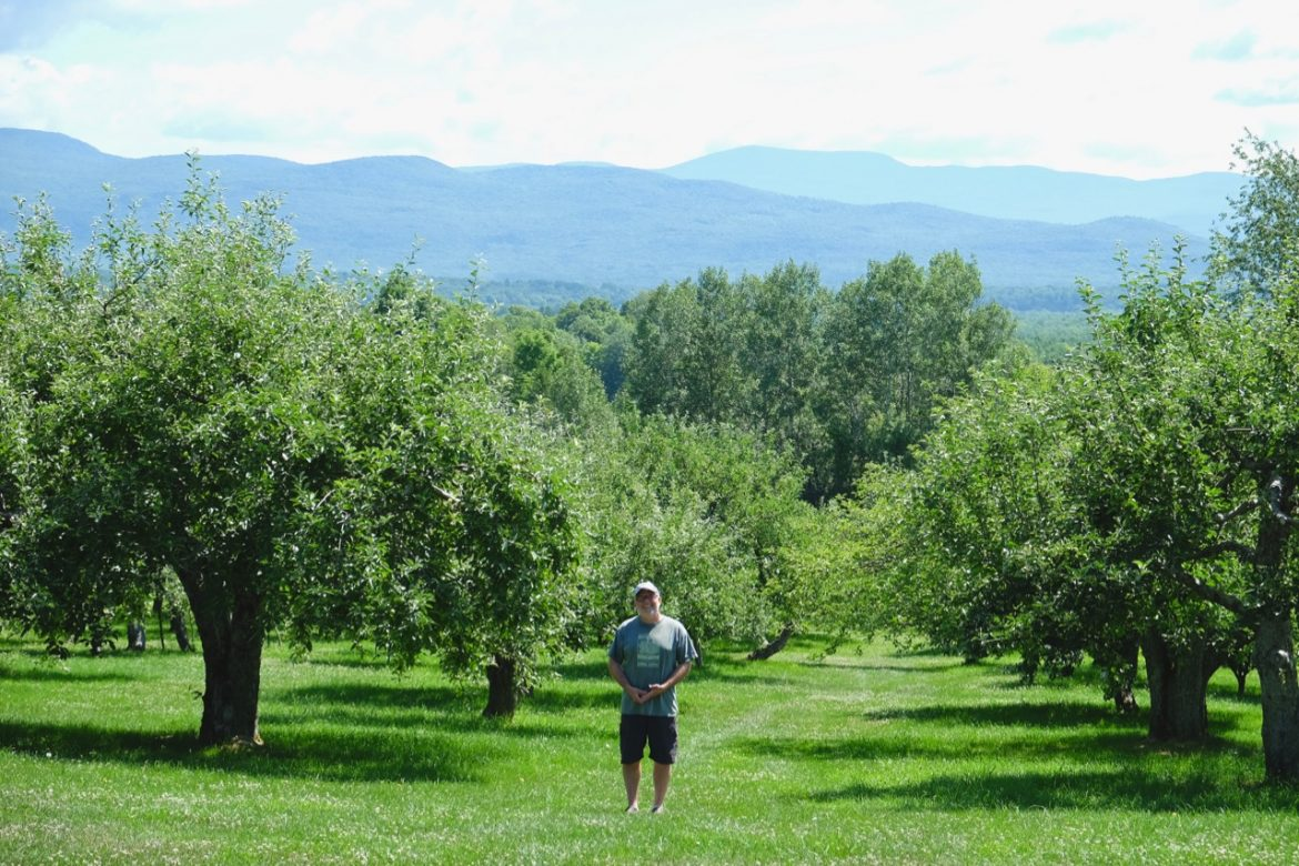 Brad Koehler of Windfall Orchard