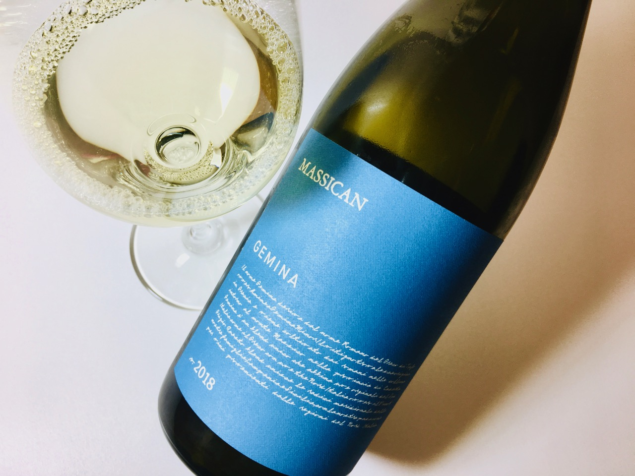 2018 Massican White Wine Gemina California
