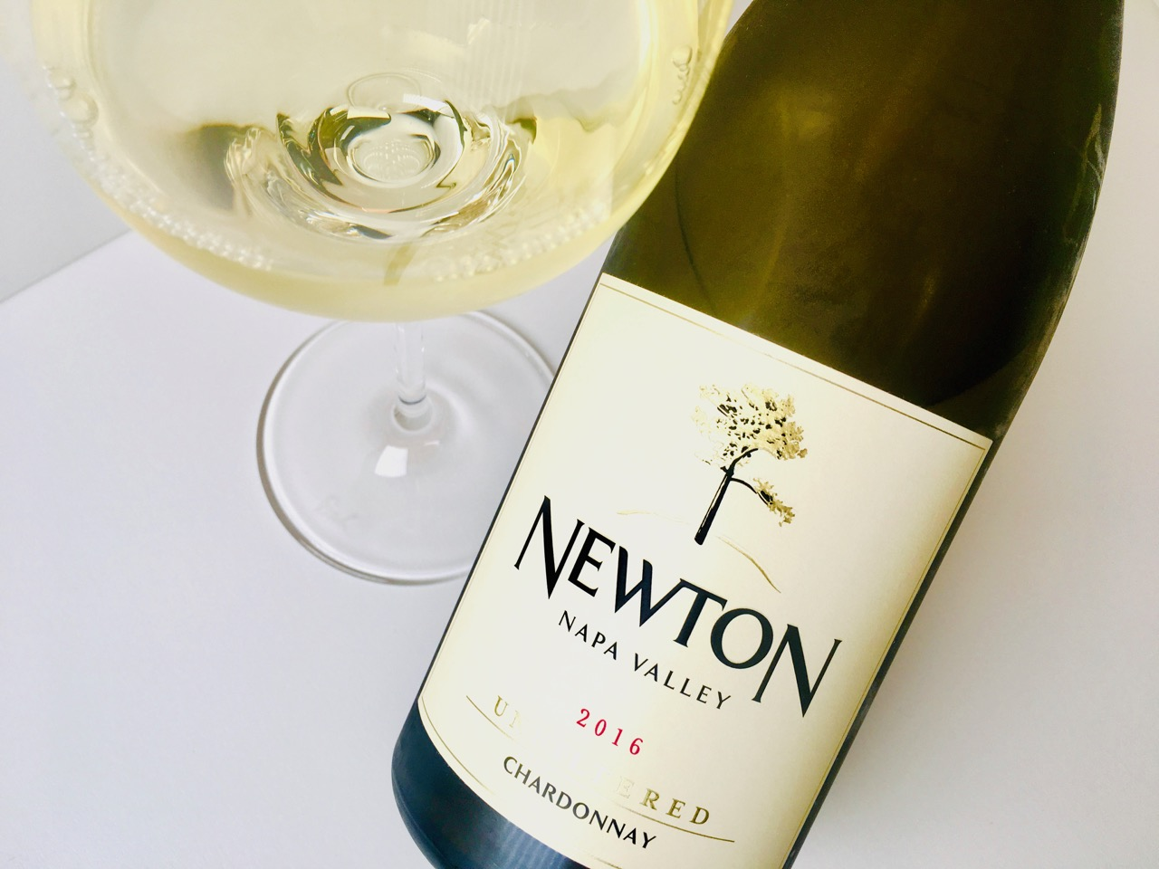 2016 Newton Chardonnay Unfiltered Napa Valley