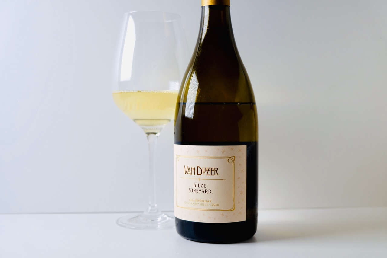 2016 Van Duzer Chardonnay Bieze Vineyard Eola-Amity Hills