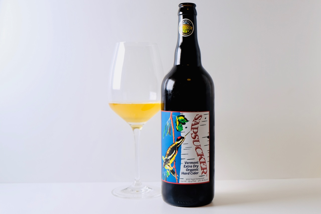 Flag Hill Farm Sapsucker Extra Dry Sparkling Cider Vermont