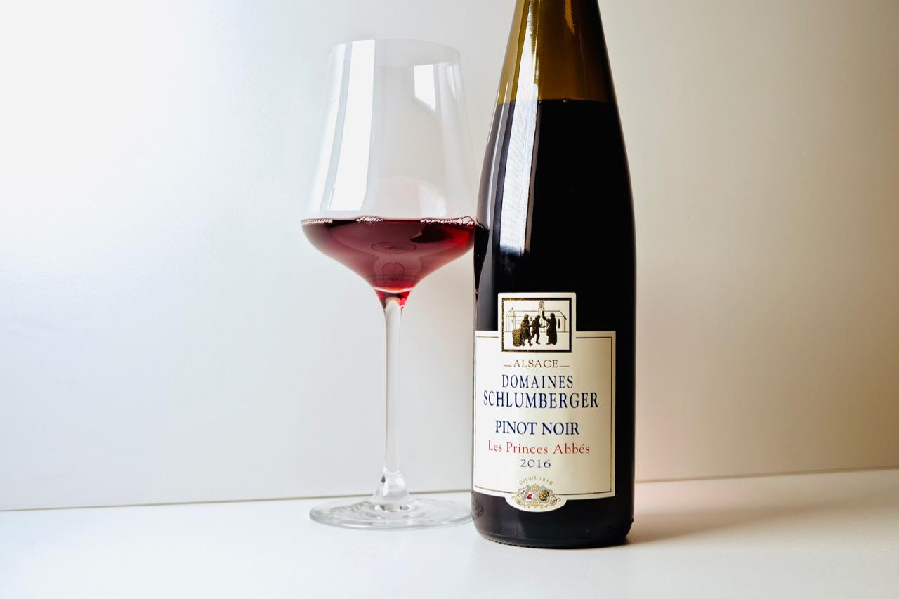 2016 Schlumberger Pinot Noir Les Princes Abbés Alsace