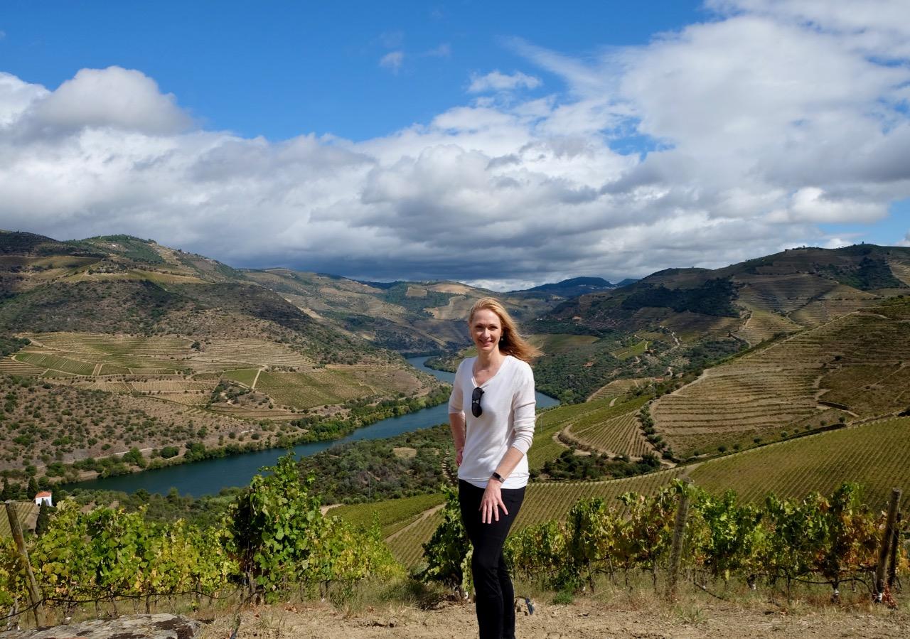Meg Houston Maker in the Douro
