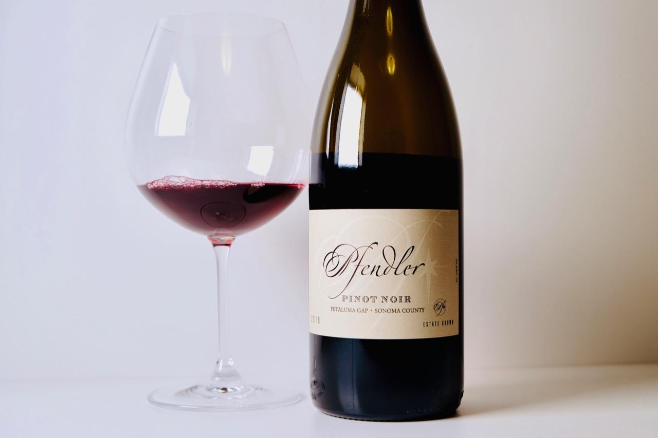 2018 Pfendler Pinot Noir Petaluma Gap Sonoma County