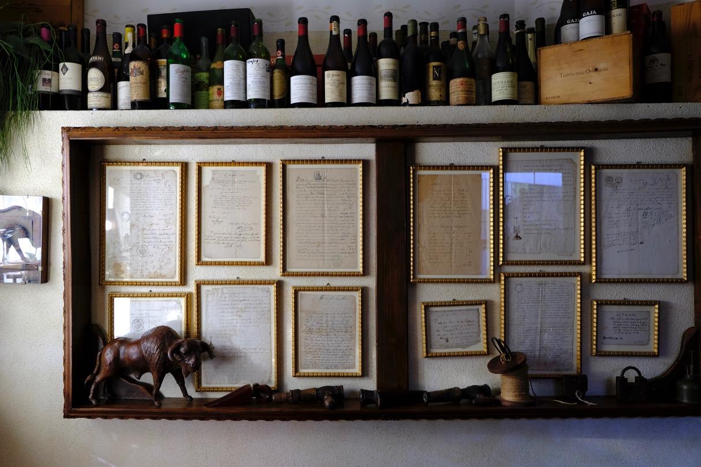 A restaurant in Bardolino