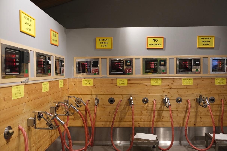 Bulk wines are still in service at the Bardolino cooperative