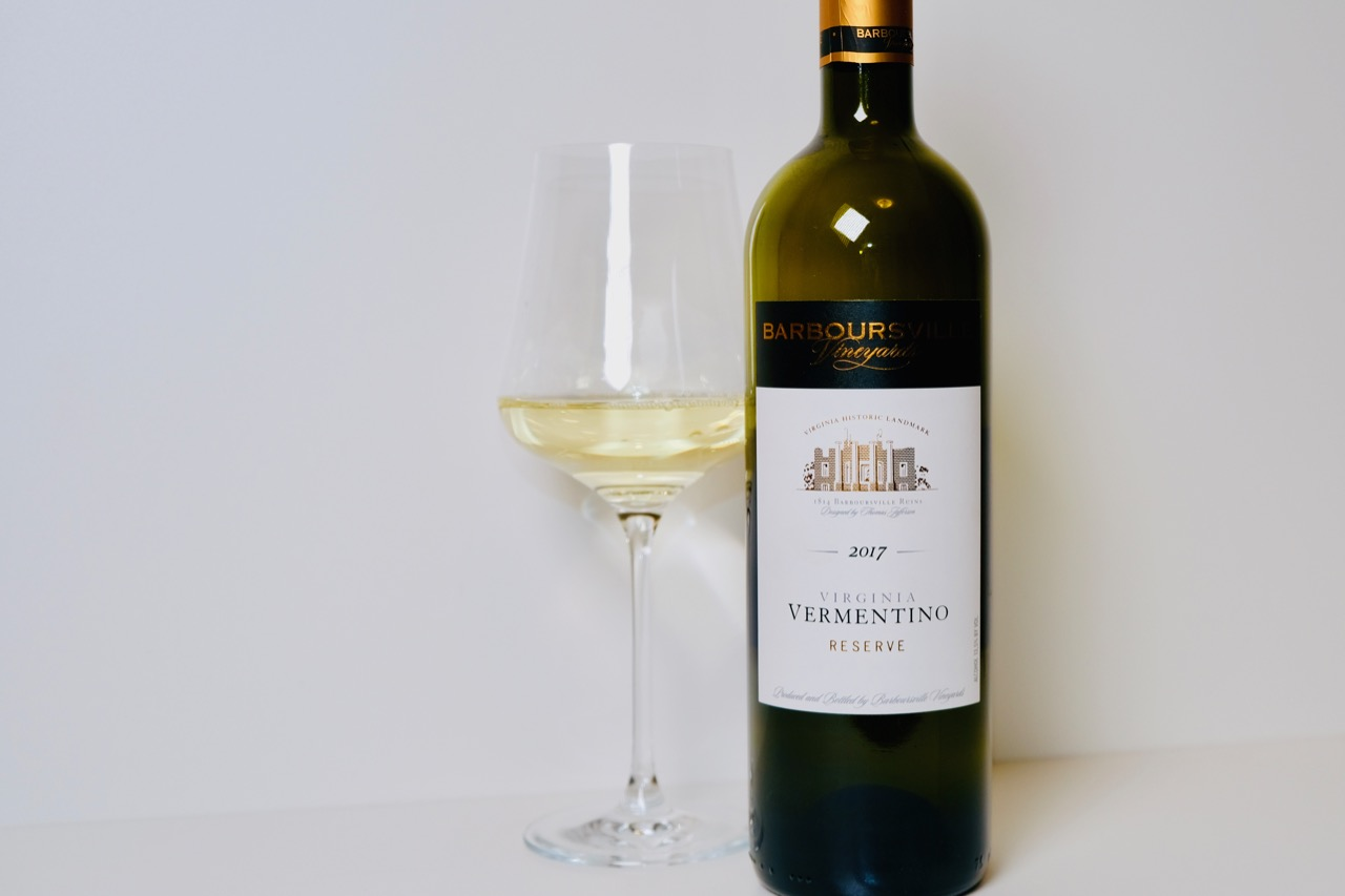2017 Barboursville Vermentino Reserve Virginia