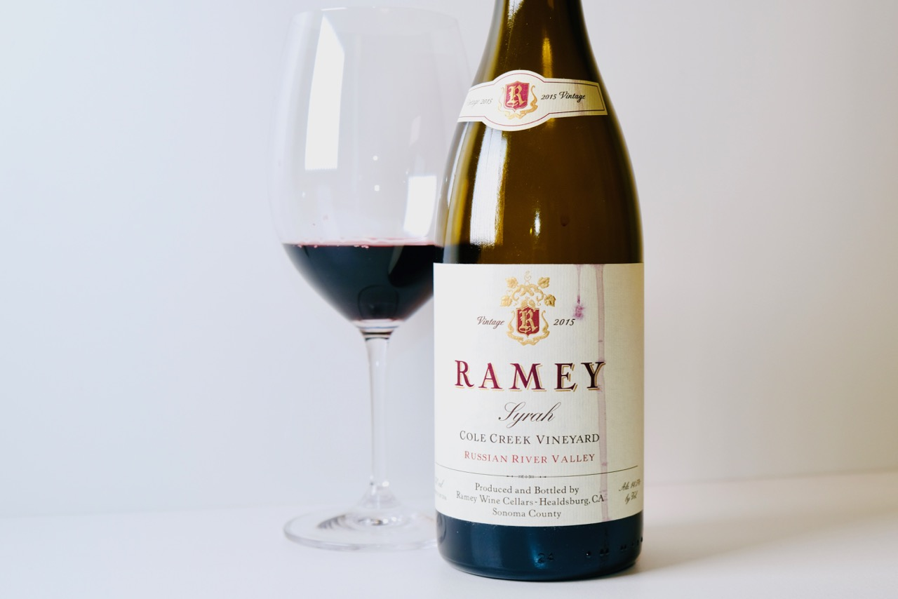 2015 Ramey Syrah Cole Creek Vineyard Russian River Valley