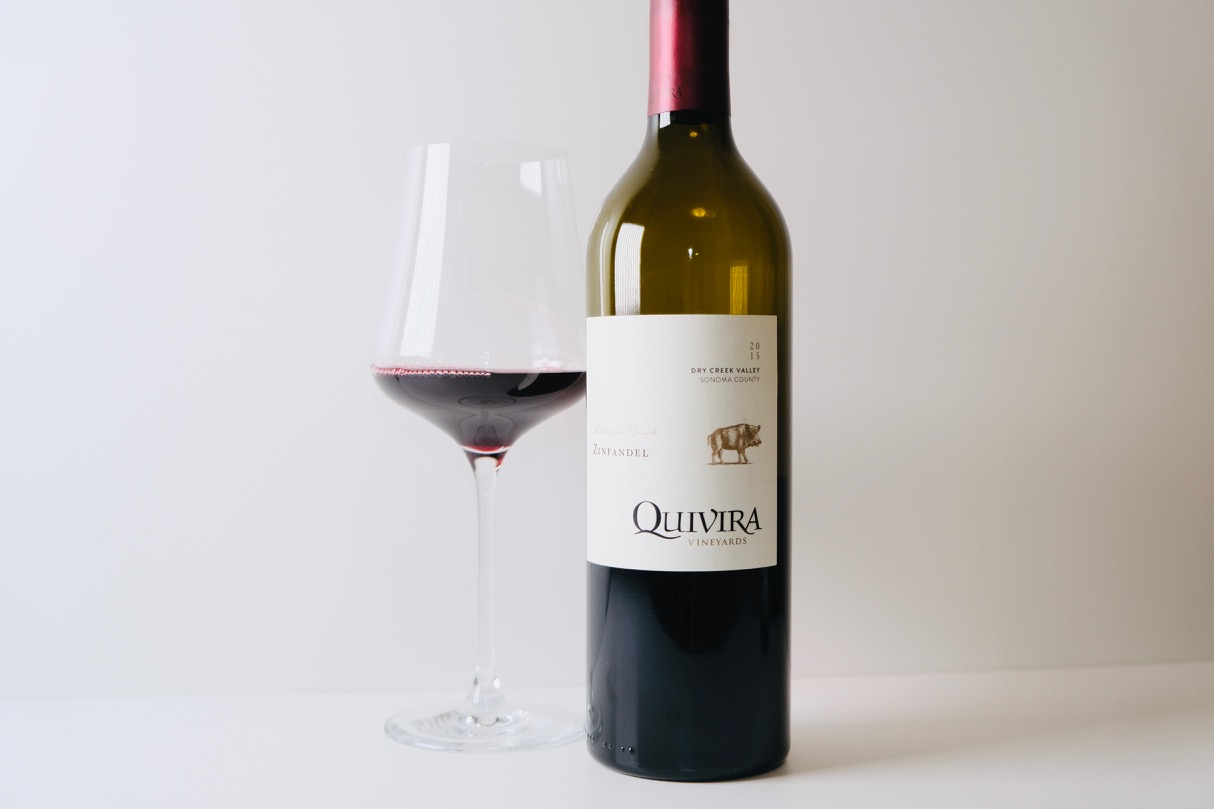 2015 Quivira Zinfandel Anderson Ranch Dry Creek Valley